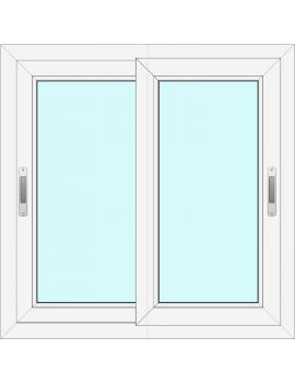 PVC Sliding Window to...